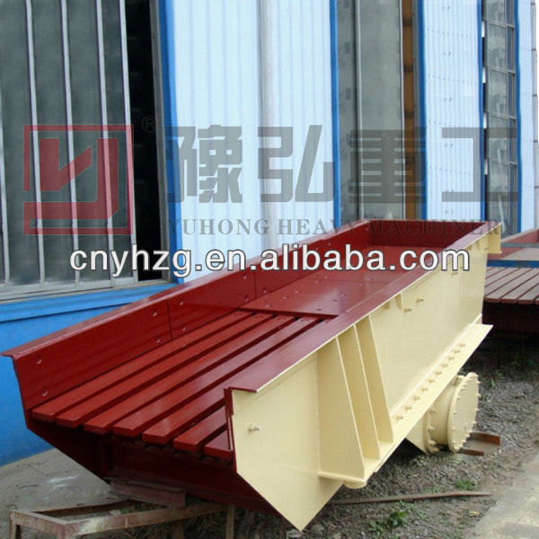 Hot sale high efficiency vibrating grizzly screen feeder