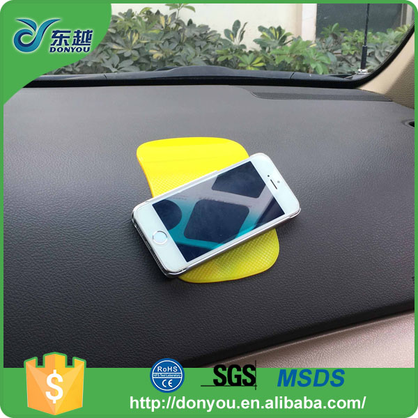 Various shapes sticky silicone adhesive rubber sticky grip pad