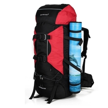 Heavy duty canvas and waterproof 600D durable biking backpack camping bags