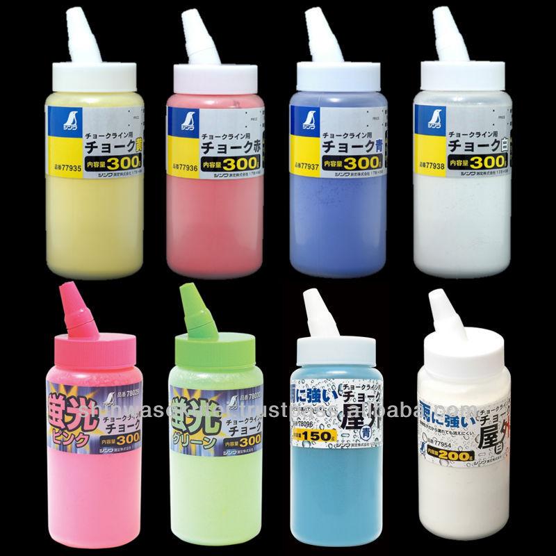 fanctional color chalk powder for chalk line reel superfine