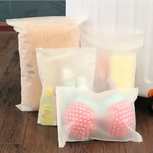 Cheap Price Matte&Transparent Plastic Cloth Packaging Bag for Bikini/Shoes