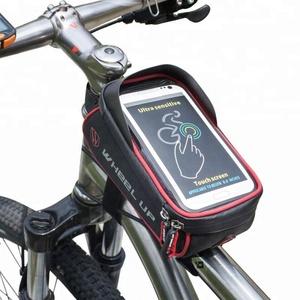 53b00027d87 ... Hard Case Bike Box. high quality Wheel Up Waterproof MTB Road Bike Bag  Basket Frame Front Tube Handlebar Bag Cycling