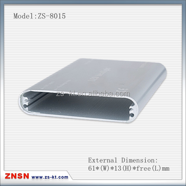 Alumiunm 6063 extrusion shell/housing for STB