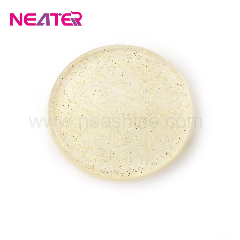 Customized Color Eco-Friendly Round Makeup Beauty Tools Powder Puff Silicone Silicone puff