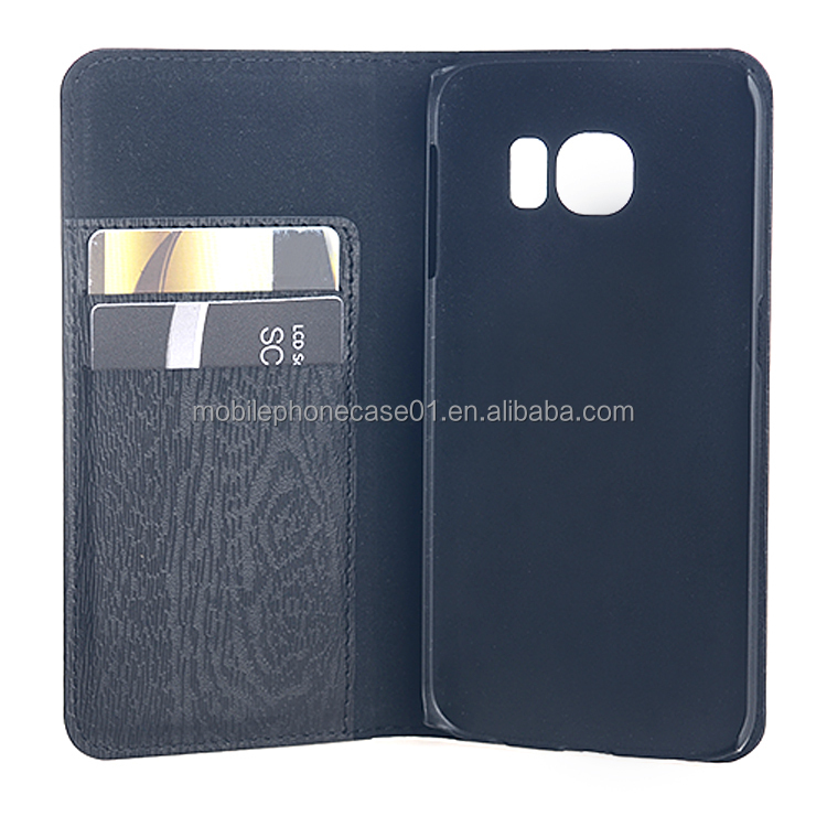 Moblie Phone Leather Cases for Samsung Galaxy S6 Edge
