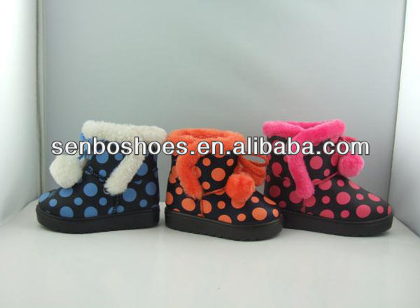 Polka Dot 1 to 5 years old kid boots