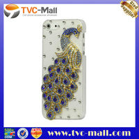 For i Phone5 Accessory,Handmade 3D Phoenix Bling Diamond Crystal Case Cover for iPhone 5