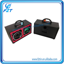 Best quality HIFI retro wood bluetooth portable speaker new multimedia speaker with remote control in wooden speaker
