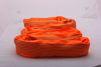 10T 100% Polyester Lifting Webbing Sling Round Sling