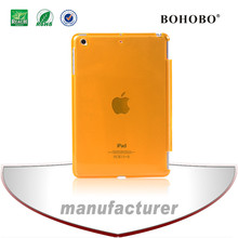 Ultra thin clear hard plastic tablet Case for iPad mini 2