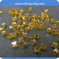 Industrial Yellow diamond for dressing tools/Sharp point diamond stone factory price for sale