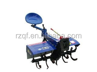 mini power tiller with seat for walking tractor