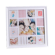 Baby shower souvenir collage picture frame wooden first year Baby photo Frame
