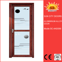 Cheaper price aluminum trailer doors SC-AAD090