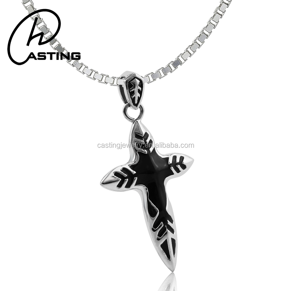 Mens Small Metal Crosses Wholesale Israel Cross Pendant Charm