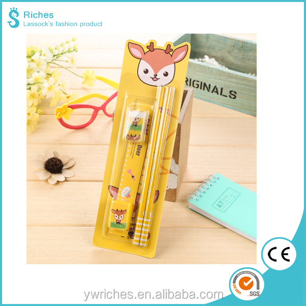 Yiwu Riches Popular Kids Educational Stationery Office Set List for Promotion