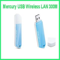 Mercury USB Wireless LAN 300M desktop laptop computer WIFI wireless receiver transmitter AP/USB Dongle/Network cards