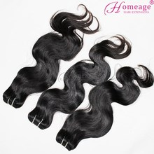 Homeage darling hair extension/ remy curly hair weaves guangzhou remy hair market