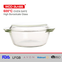 glass baking ware pyrex casserole with lid