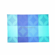 Useful waterproof customized hotel pvc table setting placemats