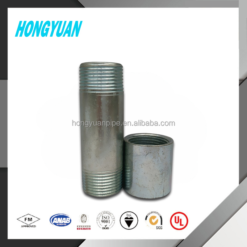 Export NPT internal thread galvanization extension socket