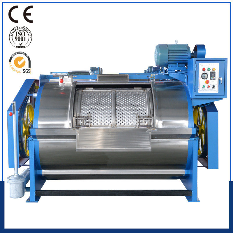 50kg horizontal semi automatic laundry equipment used in hotel