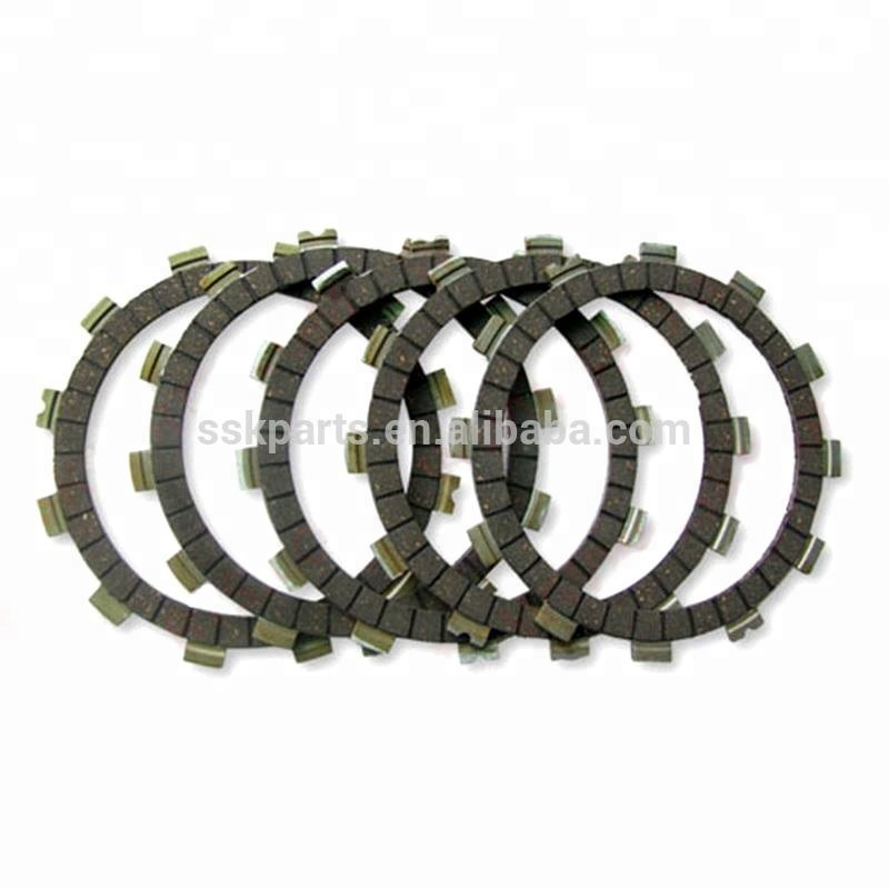 HAISSKY Motorcycle Parts Spare Cafe Racer Parts Clutch Friction for Bajaj Pulsar