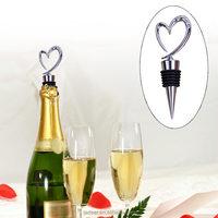 Good sell pink crystal wine bottle stopper with black gift box set