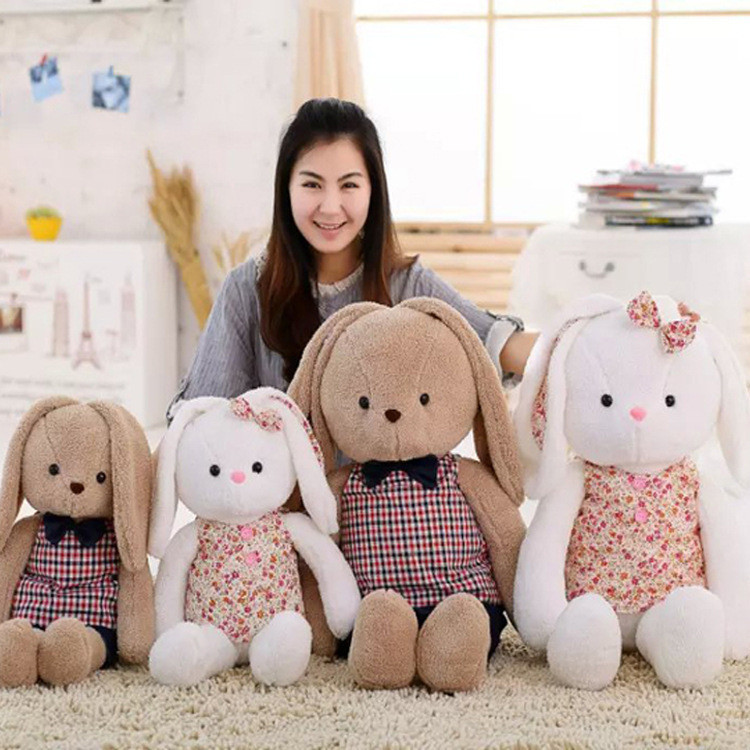 Creative cute big ears and long leg rabbit stuffed toy for gift