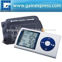Fully Automatic Type Arm Blood Pressure Monitor 4 person Memory bpm Auto Inflate Inflating / Deflate Diflating Sphygmometer