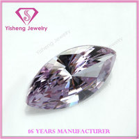 Lavender Marquise Radiant Cut Loose Synthetic Cubic Zirconia Gemstone Diamond