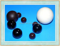 different size rubber ball