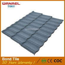 CE ISO Certificated Cheap Price Stone Coated Metal Steel Asa Tegula Roof Tile for Sale