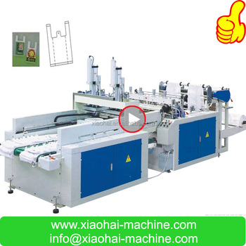 HAS VIDEO Plastic Shopping Bag Making Equipment Price For Supermarket
