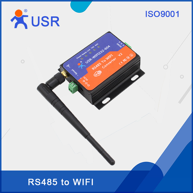 USR-WIFI232-604 V2 Serial RS485 to WiFi Adapter