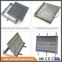 Sump pit grates trench steel grating cover walkway cover drain cover