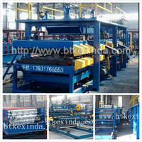 EPS Insulated Sandwich Panel Production Line Roll Forming Machine insulated roof and wall panels roll former