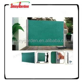 Outdoor Retractable Aluminium Side Awning