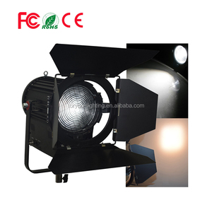 Professional High CRI Tungsten 3200K Warm White Studio Video Film TV 100 Watt LED Fresnel Spot Light With Barndoors