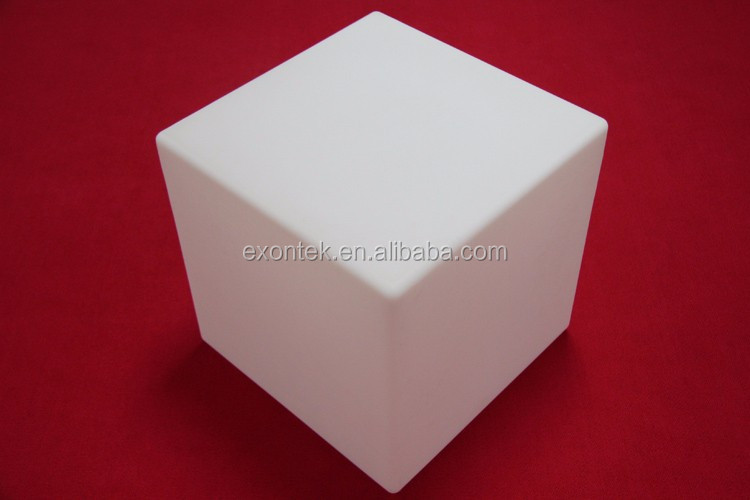 Wholesale latest design kids cube stool led chair 50X50X50CM top seller in Euro-market