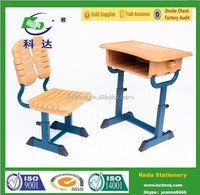 Educational Middle School desk and chair Cheap Price