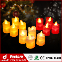 Simulation Electric Christmas Wedding Decorative Rocking LED Flameless Candle