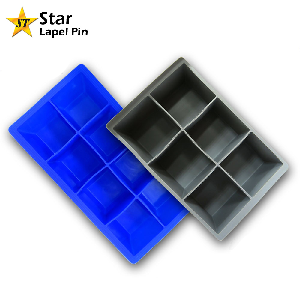 China Factory Custom Design Food Safe Silicone Ice Baking Mold for Cake