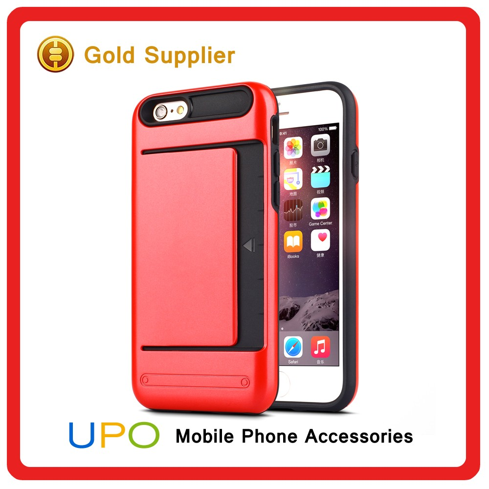 [UPO] Stylish Hybrid Combo Ultra Thin Armor Shockproof Protective Phone Covers Cases for iphone 6