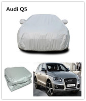 UV protection and waterproof car cover Factory high quality folding silver car cover For Audi Q5