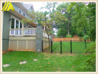 steel fence-038 hot sales durable covington aluminum fence