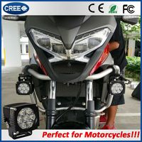 Most popular amber yellow fog light racing motor bright 3640lm led lights for motorcycle