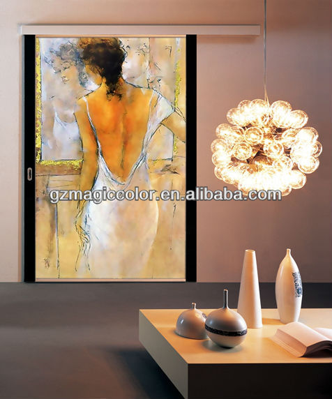 artistic nude oil painting girl wallpaper murals