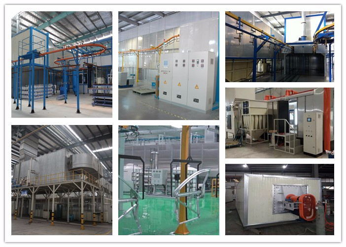 New design powder coating line with high capacity