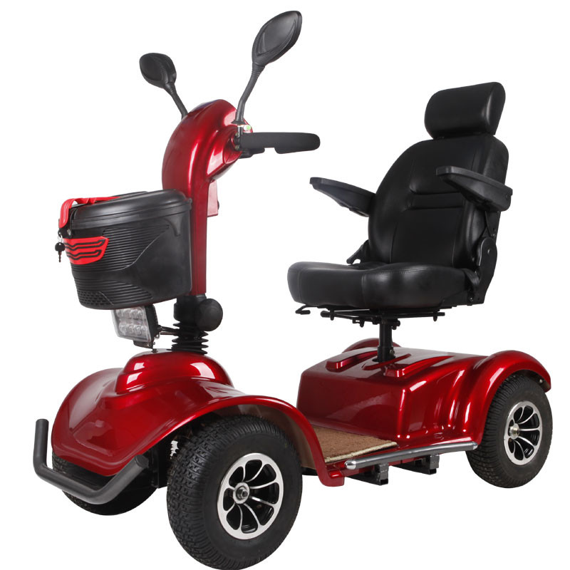 4 wheels big size 1000W electric mobility scooter with CE,scooter bws